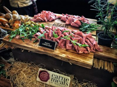 World Gourmet Summit 2017 – Awards of Excellence Presentation Ceremony and Opening Reception - Wagyu Corned Beef By Indoguna