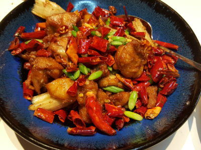 Ten Ten Hunan Bistro 十食湘, Delish Food With Outstanding Service, At Reel Mall - Fried Chicken with Red Chillies 辣子鸡 (RMB 68)