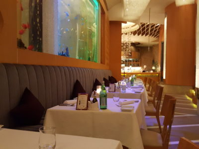 Acqua Italian Restaurant At Grand Kempinski Hotel Shanghai, Best Service Recipient For China Restaurant Week 2017 Winner Edition - Interior