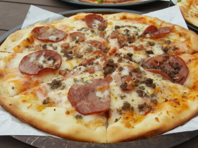 Pizzaboy At WIS Offering Affordable Halal Pan Pizza With Delivery - Mighty Meaty