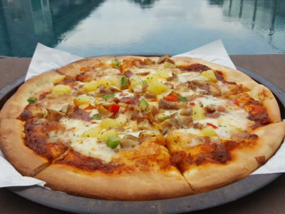 Pizzaboy At WIS Offering Affordable Halal Pan Pizza With Delivery - PB Pizza Rendang