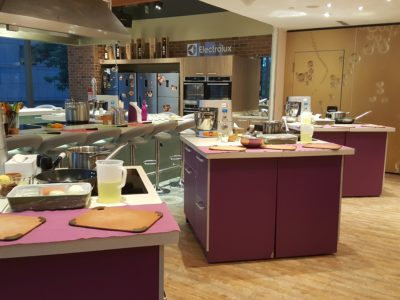 Storming Culinary On Kitchen With A 3-course Modern Mediterranean Meal - A view of the cooking studio