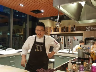 Storming Culinary On Kitchen With A 3-course Modern Mediterranean Meal - Chef Daniel Teo