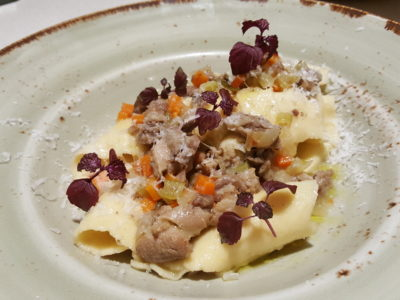 Storming Culinary On Kitchen With A 3-course Modern Mediterranean Meal - Pasta Pappardelle with Duck Ragout