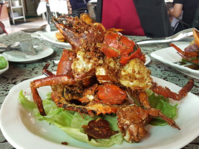 Festival of Crab At Ah Hoi's Kitchen, Offering 10 Different Styles - Butter & Garlic Crab
