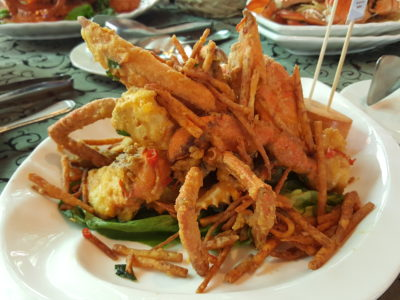 Festival of Crab At Ah Hoi's Kitchen, Offering 10 Different Styles - Salted Egg & Crispy Yam Crab
