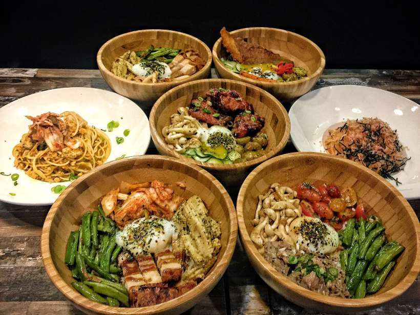 Atmosphere Bistro At Alexandra Retail Centre Launches Asian Rice Bowls for Lunch, Labrador Singapore - Rice Bowls and Pastas