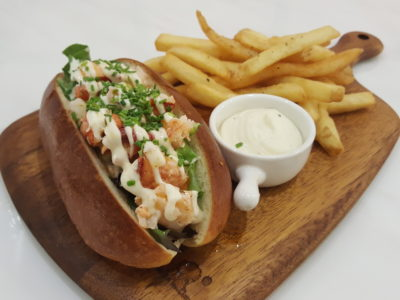 D'Good Cafe @ Ngee Ann City, London Subway Theme - D'Lobster Roll ($22)