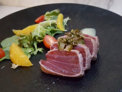 Portico Prime New Menu for 2017, Better Than Our First Visit - Tuna Tataki ($20)