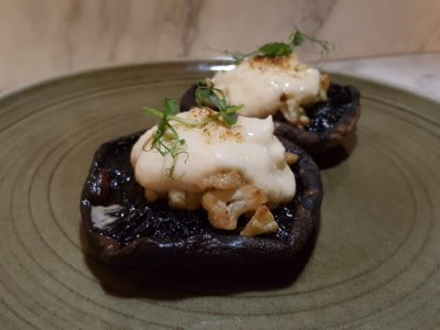 Portico Prime New Menu for 2017, Better Than Our First Visit - Grilled Portobello Mushroom ($15)