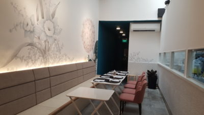 Nesuto By Folks Behind SHUU Offering French Patisserie At Tras Street - Interior Dinning Area