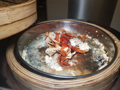 Spice Brasserie's Endless Crabs Party Dinner Buffet At Parkroyal On Kitchener – Steamed Crab at Live Station