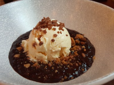 Wine & Chef At Keong Saik Road For Quality Wine At Wallet Friendly Price - Venere Rice Pudding ($8++)