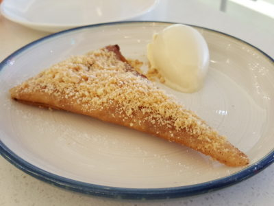 Venue By Sebastian By Ember Former Chef Now Opened At Downtown Gallery - Apple Pie ($14)