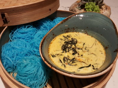 Blue Jasmine At Park Hotel Farrer Park Offering A Slice Of Thai To Little India - Crabmeat Yellow Curry