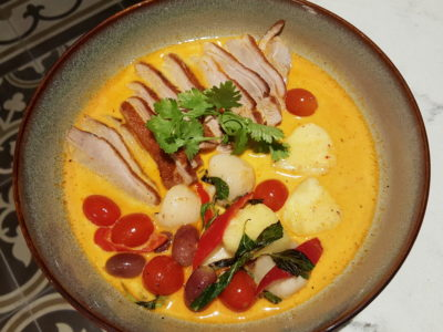 Blue Jasmine At Park Hotel Farrer Park Offering A Slice Of Thai To Little India - Duck Red Curry
