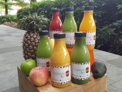 Cleanse Bar At My Village Offering Healthy and Refreshing Cold Press For Detox And Meal Replacement - Juice Cleanse Package