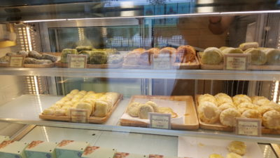 April's Bakery Hailing From Bangkok Offering Sweet Pie At Tampines MRT Station - April's Bakery Counter