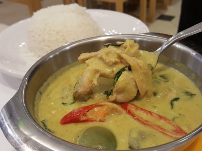 Bowl Thai, Brand New Concept Now At Chinatown Point - Green Curry Chicken, Gaeng Keow Wan Gai ($8.90)