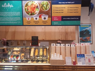 Aloha Poke @ Bugis Junction Is Their Fourth Outlet To Offer Yummy Poke Bowl, Now Opened - Counter