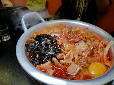 Patbingsoo Korean Dining House at Plaza Singapura, One Stop Destination For South Korean Delights at Dhoby Ghaut, Singapore - House Special Ramyeon (S$11.90++)