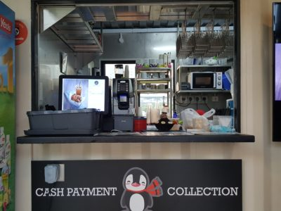 Seoul Good Desserts & Coffee At Punggol Containers Park - Order Counter for Cash payment and Collection