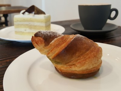 Keong Saik Bakery Offering Artisan Cakes & Bread With A Local Twist At Keong Saik Road - Green Snail ($2.20)