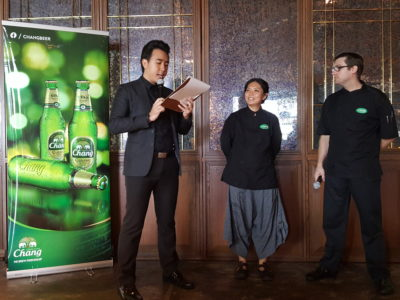 Chang Sensory Trails 2017 In Singapore Featuring Bo & Dylan Held At Long Chim - Chef Bo & Dylan