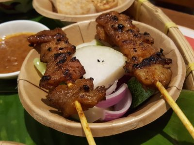 Good Old Taste Heritage Set Meal By Rasapura Masters @ The Shoppes At Marina Bay Sands - Chicken Satay by Huat Huat BBQ