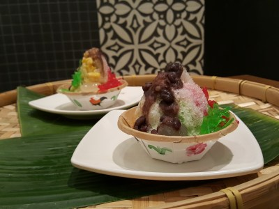 Good Old Taste Heritage Set Meal By Rasapura Masters @ The Shoppes At Marina Bay Sands - Ice Kacang