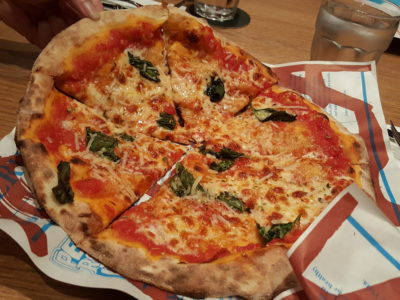 Alt Pizza At The Quayside, With Truffle Pizza - Old School Pizza