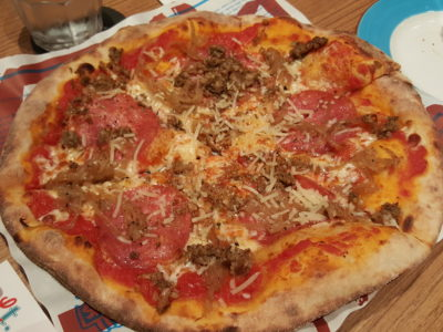 Alt Pizza At The Quayside, With Truffle Pizza - The Hangover Pizza