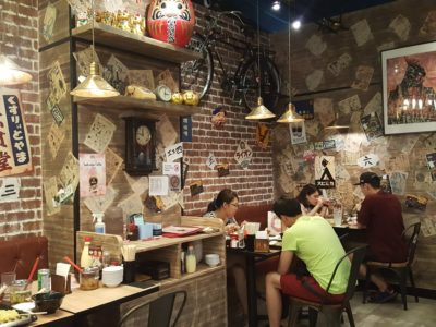 Ramen Keisuke Kani King At Cineleisure - Interior, Normal dining seats
