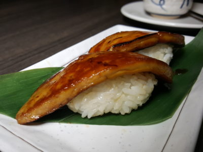Barashi Tei Revisit For New Items At Middle Road - Foe Gras Sushi