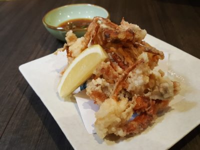 Barashi Tei Revisit For New Items At Middle Road - Deep Fried Softshell Crab ($12.80)