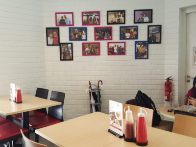 Toby's The Dessert Asylum, Family Oriented Cafe In The West At TradeHub21 - Interior
