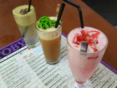 Toby's The Dessert Asylum, Family Oriented Cafe In The West At TradeHub21 - Drinks