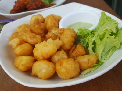 Toby's The Dessert Asylum, Family Oriented Cafe In The West At TradeHub21 - Popcorn Shrimps ($9.90)