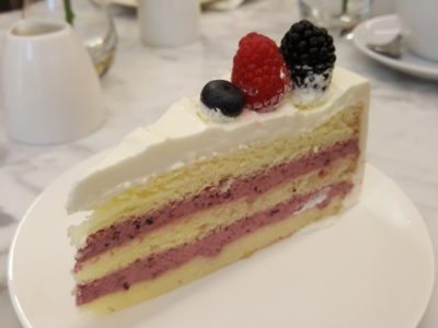 Lady M At Scotts Square, Fourth Boutique, With Exclusive Flavour Mille Crepes Cake - Three-Berry Shortcake