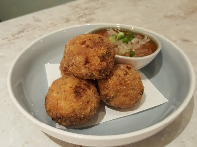 Blue Lotus @ Tanjong Pagar Centre, Delightful Dishes Well-Executed Dishes - Crab Balls, Chilli Pomelo Sauce ($22)
