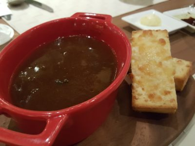 Vineyard At HortPark, Re-opened With Lushy Theme And Localised Menu - Classic French Onion Soup