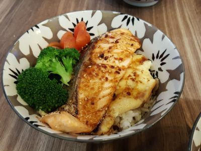 Flaming Don At Bugis Offering Value-For-Money Rice Bowls - Salmon Don ($13.90)