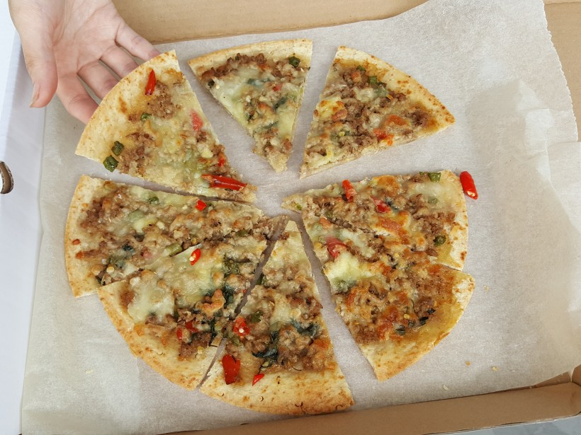 Mission Foods Pizza Crusts, Plain and Wholemeal, With Asian-Inspired Recipe - Asian-Inspired Pizza