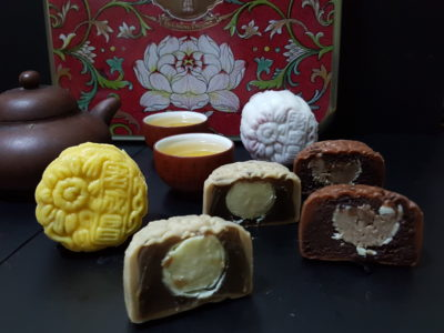 Mid-Autumn Festival 2017, A Time For Mooncake - Old Seng Choong Snowskin Mooncake, Four Heavenly Beauties Collection ($60.80)