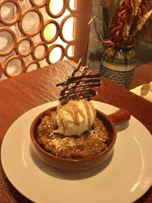 COMIDA MEXICANA Tantalises With Authentic Mexican Flavours At East Coast Road - Salted Caramel Pina Colada Bread Pudding ($15++)