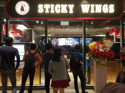 Sticky Wings At Westgate With A Fiery Spicy Option That You Will Sweat - Facade