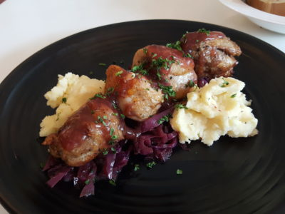 Grazie Cafe At Whampoa West, Started As Hawkerpreneur at Serangoon Gardens - Chicken Ballotine ($15.90)