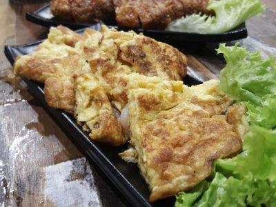 Jin Ho Mia Rice Bowl and Hot Pot At Alexandra Retail Centre - Prawn Omelette ($9.80)