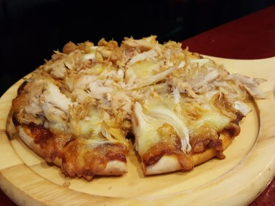SOD Cafe @ Ci Yuan Community Club With Very Affordable Mainly Under $15 For Mains - Chilli Crab Mini Pizza ($8.50)