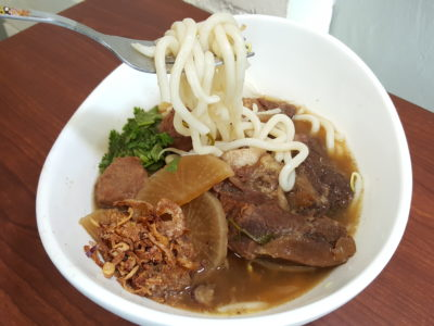 My Makan Place At Tanjong Katong Road Offering Delicious Indonesian Selection With Passion - Beef Noodle Soup with Udon